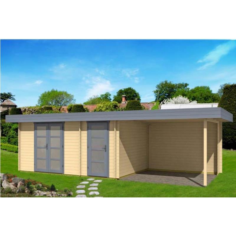 gartenhaus mit flachdach g nstig kaufen 0 chf. Black Bedroom Furniture Sets. Home Design Ideas