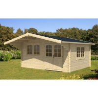 gartenhaus 40mm. Black Bedroom Furniture Sets. Home Design Ideas