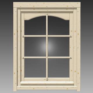 einzelfenster mit rundbogen 765x990mm rechts 180 00 chf. Black Bedroom Furniture Sets. Home Design Ideas