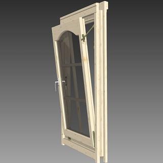 einzelfenster mit rundbogen 865x1210mm rechts 190 00 chf. Black Bedroom Furniture Sets. Home Design Ideas