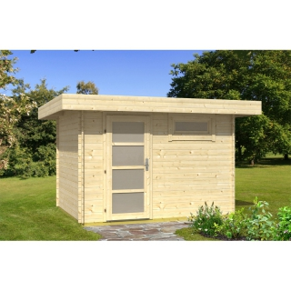 flachdach gartenhaus oriental 1 1 39 987 50 chf. Black Bedroom Furniture Sets. Home Design Ideas