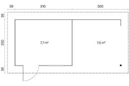 pultdach oder flachdach gartenhaus. Black Bedroom Furniture Sets. Home Design Ideas