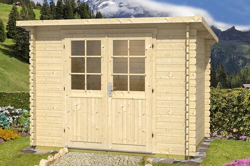 pultdach gartenhaus gloria a 1 39 387 50 chf. Black Bedroom Furniture Sets. Home Design Ideas