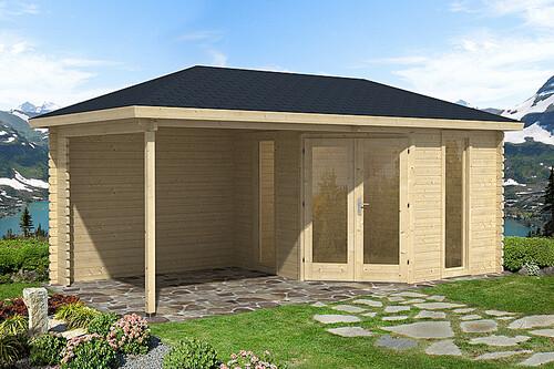 f nfeck gartenhaus venezia 40mm 3 39 562 50 chf. Black Bedroom Furniture Sets. Home Design Ideas