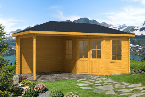 f nfeck gartenhaus catania 40mm 3 39 562 50 chf. Black Bedroom Furniture Sets. Home Design Ideas
