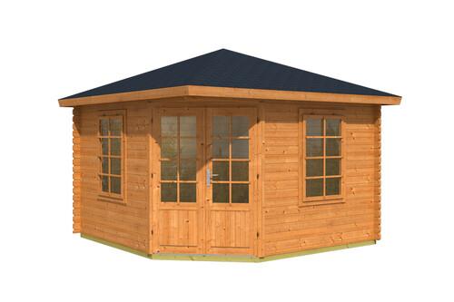 f nfeck gartenhaus aruba 40mm 2 39 970 00 chf. Black Bedroom Furniture Sets. Home Design Ideas