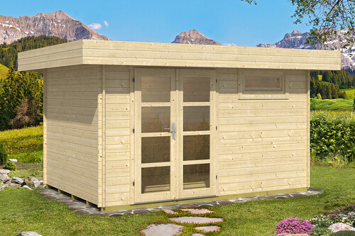 flachdach gartenhaus oriental 3 2 39 392 50 chf. Black Bedroom Furniture Sets. Home Design Ideas